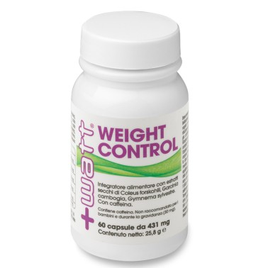 +Watt - Weight Control 60 o 120 cps. TERMOGENICO DIMAGRANTE FORTE BRUCIA GRASSI in vendita su Nutribay.it