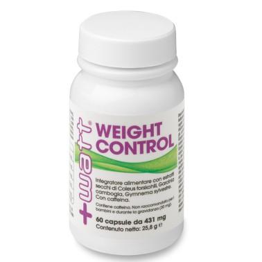 +Watt - Weight Control 60 o 120 cps. TERMOGENICO DIMAGRANTE FORTE BRUCIA GRASSI in vendita su Nutribay.it
