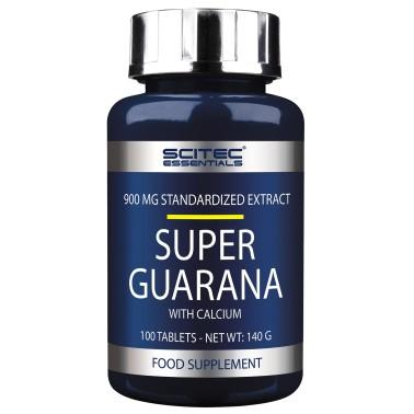 SCITEC NUTRITION Super Guarana' 100 cpr. Energetico Stimolante Tonico + Calcio - TONICI in vendita su Nutribay.it