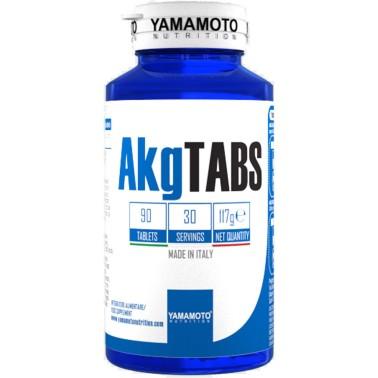 AKG TABS di YAMAMOTO NUTRITION 90 cpr - 30 dosi - ARGININA in vendita su Nutribay.it