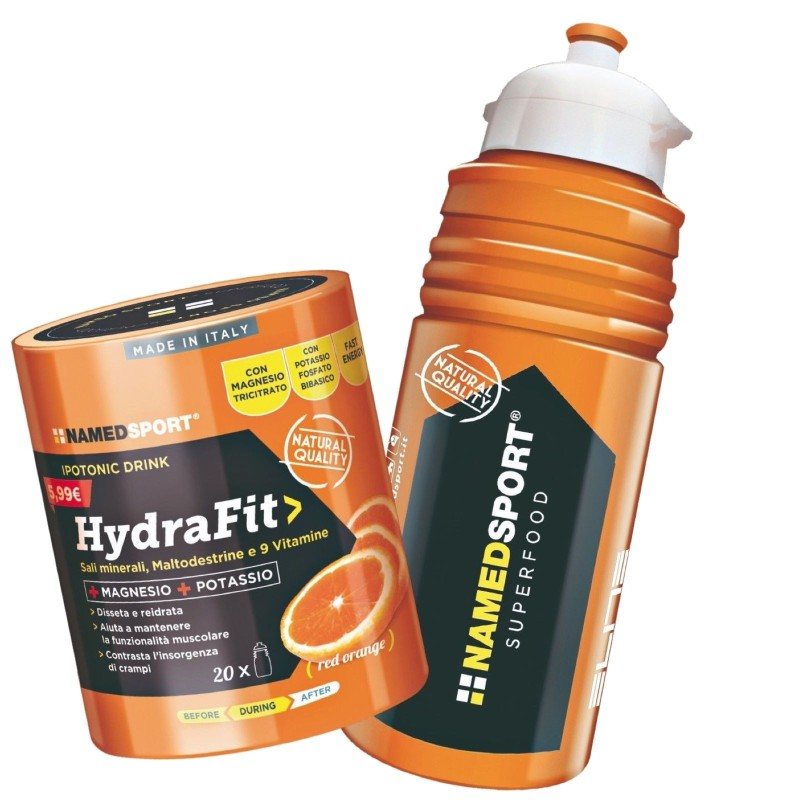 NAMED HYDRAFIT IPOTONICA CON SALI MINERALI MAGNESIO POTASSIO VITAMINE HIDRA FIT - SALI MINERALI - in vendita su Nutribay.it