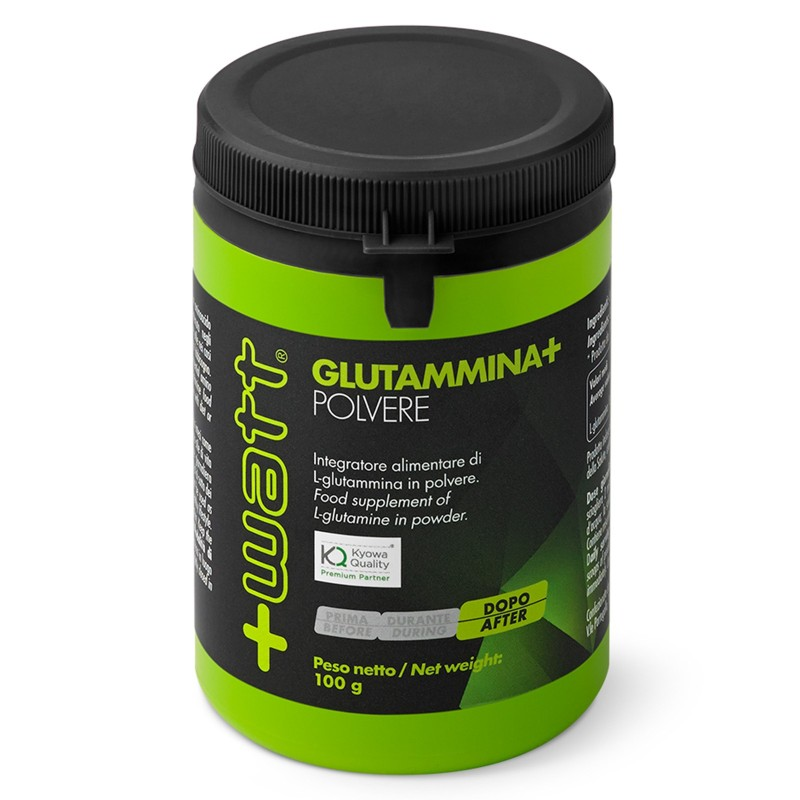 +WATT GLUTAMMINA+ GLUTAMMINA PURA 100g POLVERE OFFERTA!! in vendita su Nutribay.it