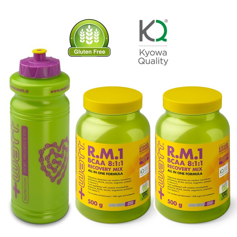 +WATT R.M.1 Recovery Aminoacidi BCAA 8:1:1 Potassio Creatina Vitamine Magnesio in vendita su Nutribay.it