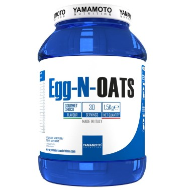 Egg N OATS di YAMAMOTO NUTIBION - 1500 gr. - 30 dosi in vendita su Nutribay.it