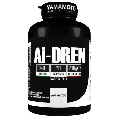 Ai-DREN di YAMAMOTO NUTRITION - 240 cpr - 20 dosi in vendita su Nutribay.it