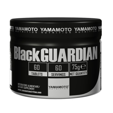 BlackGUARDIAN di YAMAMOTO NUTRITION - 60 cpr - 60 dosi in vendita su Nutribay.it