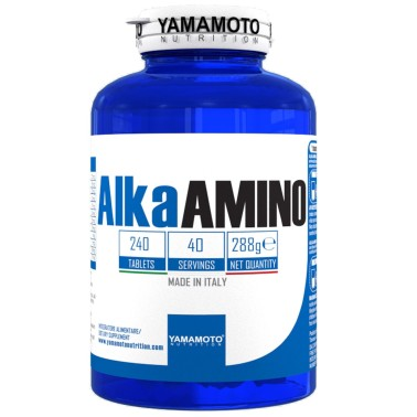 Alka AMINO di YAMAMOTO NUTRITION - 240 cpr in vendita su Nutribay.it