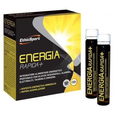 ETHIC SPORT Energia Rapida+ 10 flaconi da 25ml in vendita su Nutribay.it