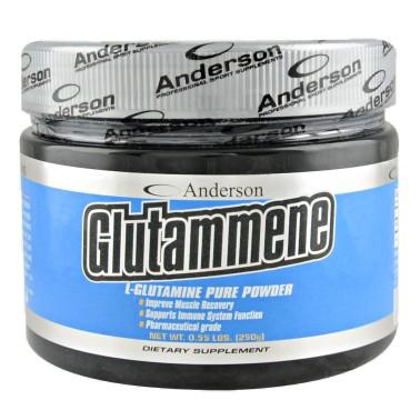 Glutammene di ANDERSON - 250 gr - GLUTAMMINA - in vendita su Nutribay.it