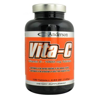 Vita-C di ANDERSON - 100 cpr - VITAMINE - in vendita su Nutribay.it