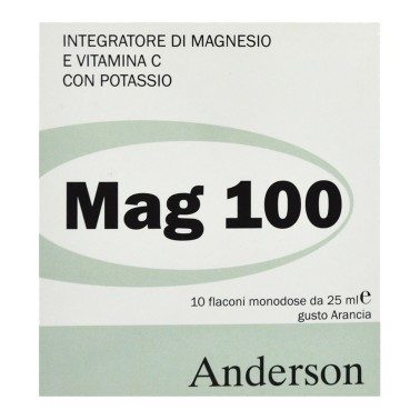 ANDERSON Mag 100 - 10 fiale da 25ml in vendita su Nutribay.it