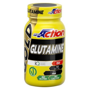 PROACTION Gold Glutamine + HMB - 150 cpr GLUTAMMINA in vendita su Nutribay.it
