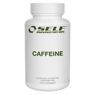 SELF OMNINUTRITION Caffeine - 100 tabs - CAFFEINA in vendita su Nutribay.it