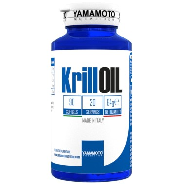 Krill OIL di YAMAMOTO NUTRITION - 90 softgel in vendita su Nutribay.it