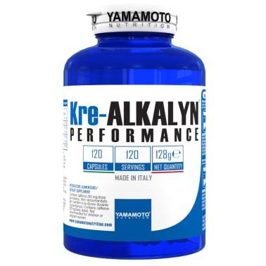 Kre-ALKALYN PERFORMANCE di YAMAMOTO NUTRITION - 120 caps - CREATINA - in vendita su Nutribay.it