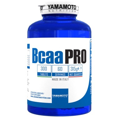 Bcaa PRO Kyowa Quality di YAMAMOTO NUTRITION - 300 CPR - 60 Dosi in vendita su Nutribay.it