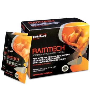 ETHIC SPORT RAMTECH 20 buste Aminoacidi Bcaa Vitamine e Zinco in vendita su Nutribay.it