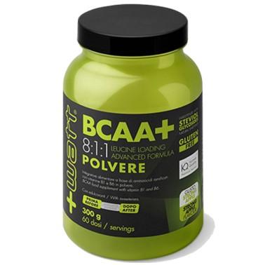 +WATT BCAA+ 300gr Aminoacidi Ramificati 811 8:1:1 polvere Kyowa + Vitamine b1 b6 in vendita su Nutribay.it