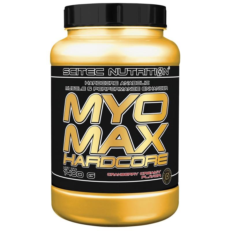 SCITEC NUTRITION Myomax Hardcore 1400 gr Mega Mass gainer di Proteine in vendita su Nutribay.it