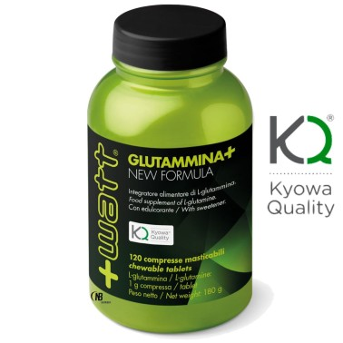 +Watt Glutammina+ 120 compresse qualita' Kyowa L-Glutamina in vendita su Nutribay.it
