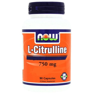 NOW FOODS L-Citrulline 90 caps - PRE ALLENAMENTO in vendita su Nutribay.it