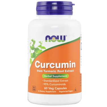 NOW FOODS Curcumin 60 cps vegetali in vendita su Nutribay.it