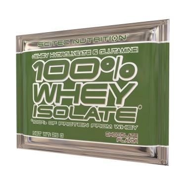 SCITEC 100% Whey Isolate BUSTA MONODOSE da 25 gr. + Proteine Idrolizzate in vendita su Nutribay.it