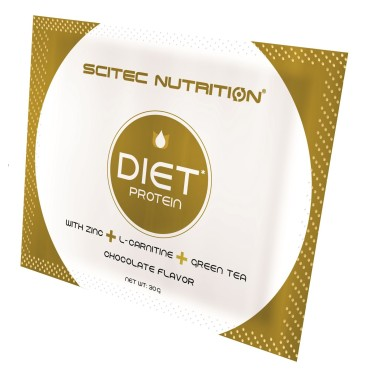 SCITEC NUTRITION Diet Proteine 30 gr. BUSTA MONODOSE CON CARNITINA in vendita su Nutribay.it