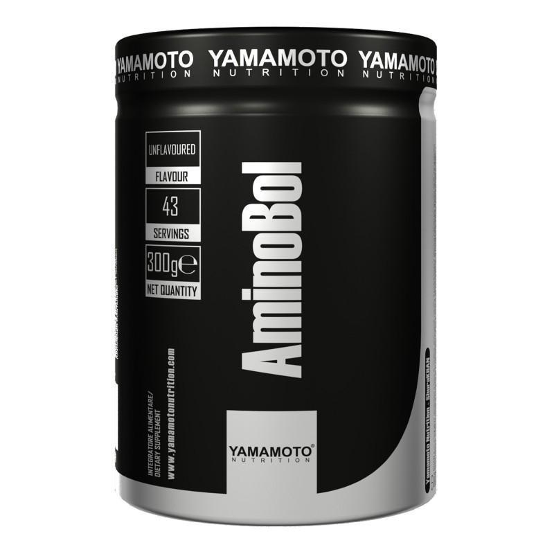 AminoBol di YAMAMOTO NUTRITION 300 gr Bcaa Kyowa 8:1:1 e Sustamine in vendita su Nutribay.it