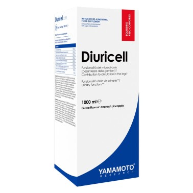 Diuricell di YAMAMOTO NUTRITION - 1000 ml - DRENANTI DIURETICI in vendita su Nutribay.it