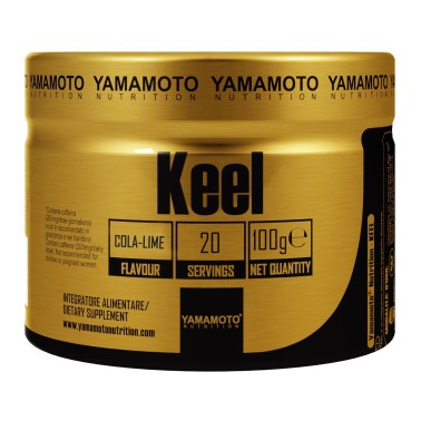 Keel di YAMAMOTO NUTRITION - 100 gr. - 20 dosi - PRE ALLENAMENTO in vendita su Nutribay.it