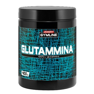 ENERVIT Gymline Muscle 400 gr. L-Glutammina 100% Integratore di Glutammina in vendita su Nutribay.it