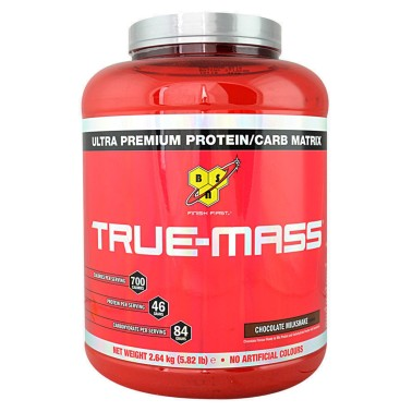 BSN SUPPLEMENTS True-Mass 2640 grammi GAINERS AUMENTO MASSA in vendita su Nutribay.it
