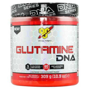 BSN SUPPLEMENT Glutamine DNA 309 gr. GLUTAMMINA in vendita su Nutribay.it