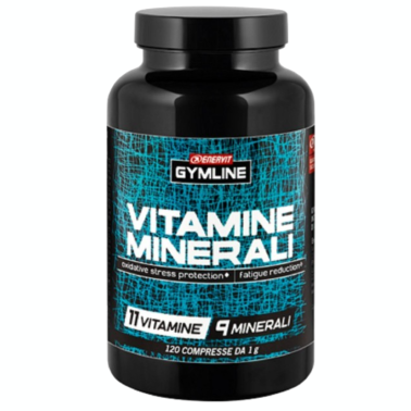 ENERVIT Gymline Muscle Vitamine Minerali - 120 cpr in vendita su Nutribay.it