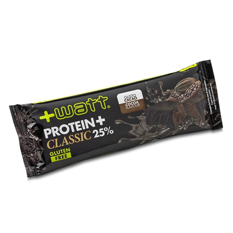 +WATT Protein+ Classic 25% Proteine Barretta proteica 40 gr. Gluten Free - BARRETTE in vendita su Nutribay.it