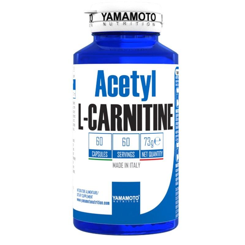 Acetyl L-CARNITINE di YAMAMOTO NUTRITION - 1000mg - 60 cps - CARNITINA in vendita su Nutribay.it