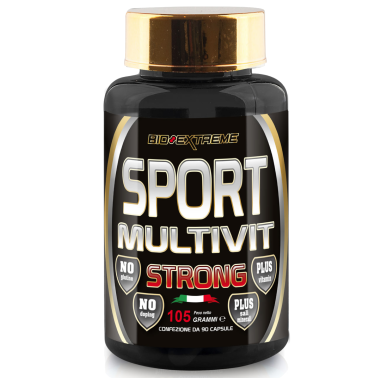 BIO-EXTREME SPORT NUTRITION Strong Multivit - 90 caps - VITAMINE in vendita su Nutribay.it