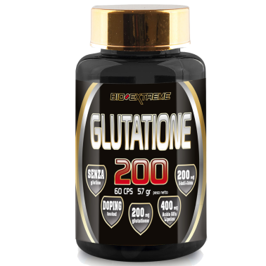 BIO-EXTREME SPORT NUTRITION Glutatione Ala 200 - 60 caps - BENESSERE-SALUTE in vendita su Nutribay.it