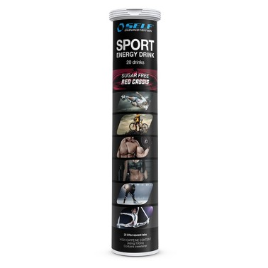 SELF OMNINUTRITION Sport Energy Drink 20 Tab Red Cassis in vendita su Nutribay.it
