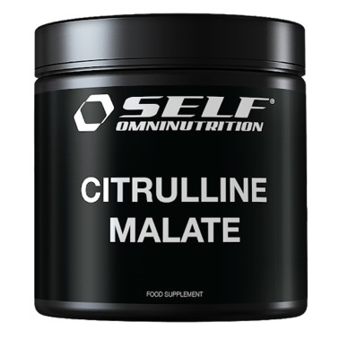 SELF OMNINUTRITION Citrulline Malate - Citrullina 200 g - PRE ALLENAMENTO in vendita su Nutribay.it