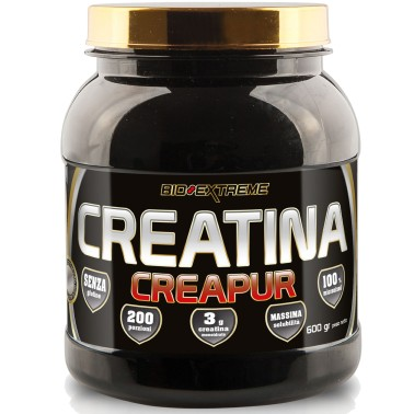 BIO-EXTREME SPORT NUTRITION Creatina Creapur - 600 gr. - CREATINA in vendita su Nutribay.it