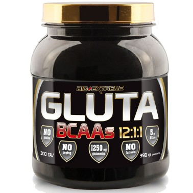BIO-EXTREME SPORT NUTRITION Gluta BCAAs 12:1:1 300 tabs in vendita su Nutribay.it