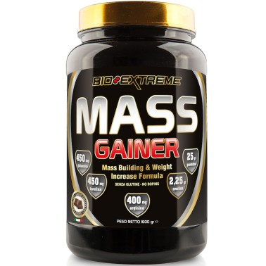 BIO-EXTREME SPORT NUTRITION Mass Gainer - 1600 gr. - GAINERS AUMENTO MASSA in vendita su Nutribay.it