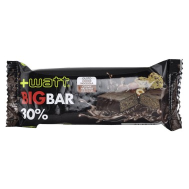 The Big Bar +Watt Barretta Proteica 80 gr. senza glutine con Proteine - Pasto Sostitutivo - BARRETTE in vendita su Nutribay.it