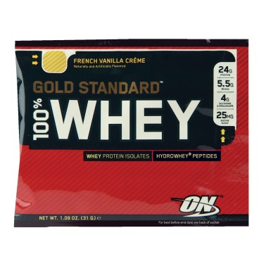 ON Optimum Nutrition 100% Whey Gold Standard 31 gr BUSTA MONODOSE - PROTEINE in vendita su Nutribay.it