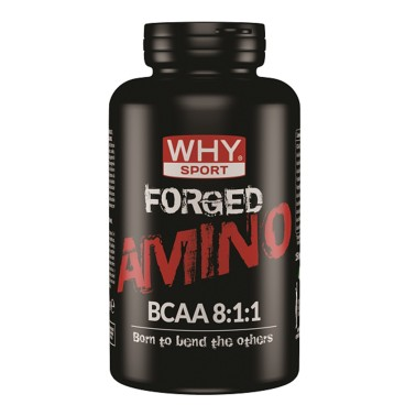 WHY SPORT Forged Amino Bcaa 8:1:1 Kyowa 150 cpr. in vendita su Nutribay.it
