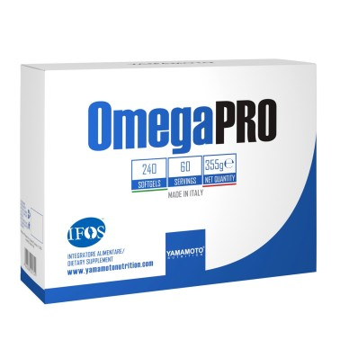 OmegaPRO di YAMAMOTO NUTRITION 240 Perle Ifos 5 stelle in vendita su Nutribay.it