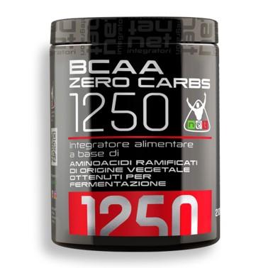 NET INTEGRATORI Aminoacidi A Catena Ramificata BCAA ZERO CARBS 1250 - 200 cpr - AMINOACIDI BCAA in vendita su Nutribay.it