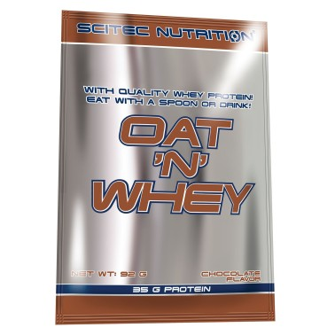 SCITEC NUTRITION OAT 'N WHEY Pasto sostitutivo BUSTA 92 GR in vendita su Nutribay.it